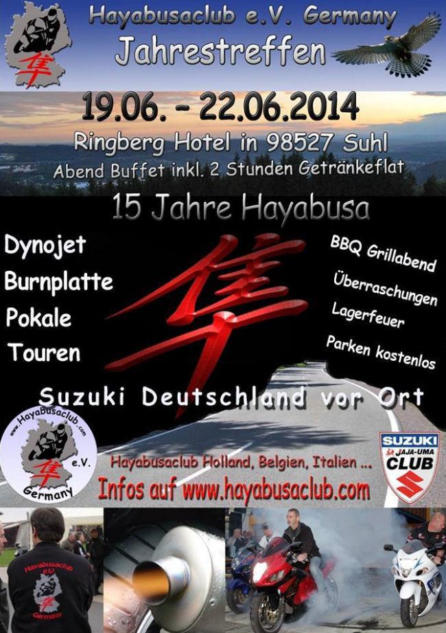 Hayabusaclub e.V Germany Årstræf 2014 Fleyerjt14